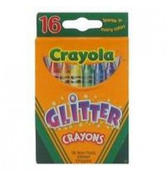"Buy the new ""Vivid Glitter Crayons Multi Pk16"" online today. Now in stock."
