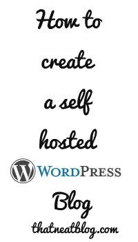 How to create a self hosted wordpress site