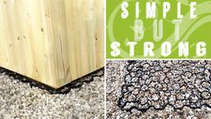 Plastic Shed Base - Simple Yet Strong