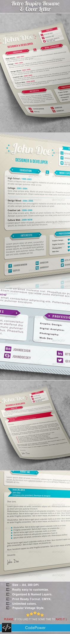 FREEBIE Resume redesign - Closer view Design resume, Cv design - view resume