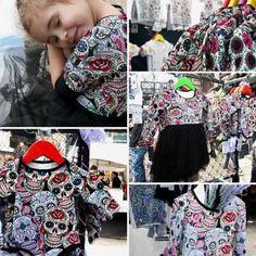 Vera Bradley Backpack, Kids Clothing, Cool Kids, Drawstring Backpack, Kids Outfits, Backpacks, Sugar Skulls, Cool Stuff, Handmade