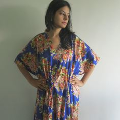 Buttoned Kaftan made from C16 Fabric Pattern