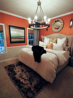 Transitional Bedroom With Shag Rug : Designers' Portfolio : HGTV - Home & Garden Television