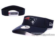 9ac7a30d NFL New England Patriots Visor On Field Training Camp Adjustable Visor  Curved Bill Caps Navy