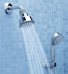 Shower Design Styles by GROHE: Authentic – Traditional Shower Heads shown in chrome. need brushed nickel