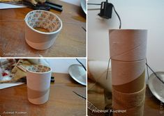 diy-napad-navod-handmade-trpaslik-01 Burlap, Jar, Tableware, Handmade, Walls, Manualidades, Dinnerware, Hand Made, Hessian Fabric