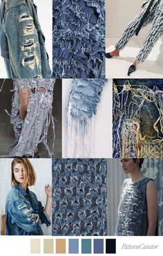 DECONSTRUCTED DENIM | pattern curator | Bloglovin'