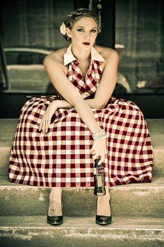 #summer #gingham #dress