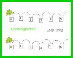 Free printable Leap Frog Game