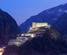 Bard Fortress, Aosta Valley, Italy