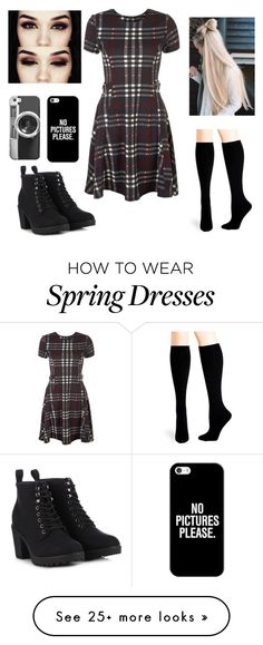 """""""Untitled #30"""" by xashleyxbreax on Polyvore featuring Hue, Call it SPRING and Casetify"""