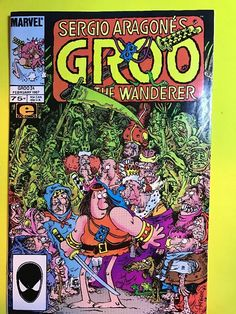 1987 Marvel GROO The WANDERER Series #24 Comics Book EPIC Jan. Sergio Aragone's