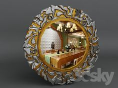 MIRROR 3d Mirror, Reflection, Frame, Model, Home Decor, Mirrors, Picture Frame, A Frame
