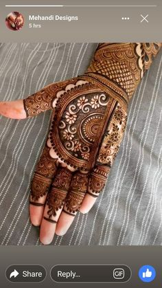 Most Beautiful Henna Designs 2019
