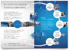 三光通信株式会社様・パンフレット Ad Design, Book Design, Layout Design, Editorial Layout, Editorial Design, Brochure Design, Corporate Brochure, Booklet Layout, Dm Poster