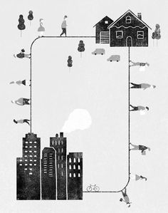 my love/hate for the city.   artist: jing wei