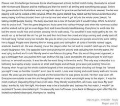 This is so horrible!!!! I almost cried:/ please read!!! And repost for the support of Louis!!!: (