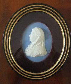 ANTIQUE 19THC WEDGWOOD JASPERWARE PORTRAIT MEDALLION OF EMMA ROTHSCHILD BOHEM SC in Pottery, Porcelain & Glass, Date-Lined Ceramics, c.1840- c.1900 | eBay