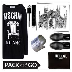"""""""Milano ...my city...."""" by simona-altobelli ❤ liked on Polyvore featuring Moschino, Miu Miu, Givenchy, Designhype, Christian Dior, women's clothing, women, female, woman and misses"""