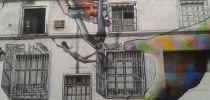 Street Art by Diana Guido in Madrid, Spain