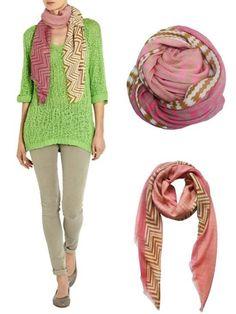 Mille Frydenberg - Silk Scarves