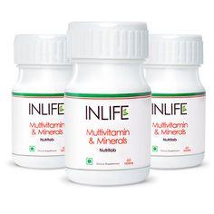INLIFE Multivitamin & Minerals Tablets (3-Pack)