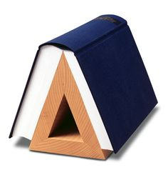 book hook by ritterbach// would love this for the night stand.