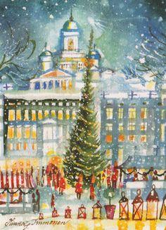 """Helsinki """"Christmas in the City"""" - Minna Immonen"""