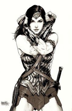 Wonder Woman - Gal Gadot by Garnabiel Kraken