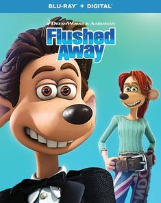 Flushed Away [Includes Digital Copy] [Blu-ray] [2006]