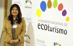 Sofia Gutierrez, directora de directora adjunta de Desarrollo Sostenible de la Organización Mundial del Turismo. Foto. EFE/Mariano Cieza