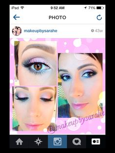 Spring pink makeup. For list of products, just ask!!