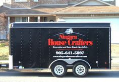 Jordin funk 39 s work van always clean with great signage for Finesse interior design home decor st catharines on