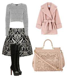 """Bez naslova #49"" by themostfashion ❤ liked on Polyvore featuring moda, Alice + Olivia, rag & bone, Carven ve Dolce&Gabbana"