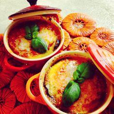 la mia parmigiana di melanzane