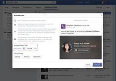 #3businessnews: Facebook ha introdotto la possibilità di pianificare le dirette streaming fino a una settimana in anticipo.La nuova funzione è attualmente riservata solo alle Pagine...  http://www.ansa.it/sito/notizie/tecnologia/internet_social/2016/10/19/dirette-su-fb-si-potranno-programmare_d8086ef7-c2fa-4682-89fe-4760ff6ac812.html   #Tariffe #3Italia #Telefonia #Offerte #Smartphone #SMS #Internet #Promozioni #business #tre #aziende #pmi #iphone #future #iphone7 #galaxys7edge