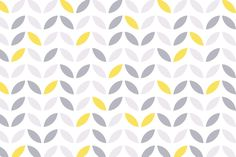 Our Yellow & Grey Abstract Flower Pattern Wallpaper is a thought-provoking and artful combination of yellow and grey on a largely white canvas.