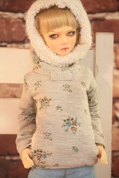 Free Shipping, 1/3 1/4 1/6 BJD clothes hoodies winter #Affiliate