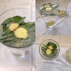 My Casual Brunch:  Mais uma água detox. Desta vez com erva príncipe,...