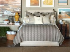 Barclay Butera Luxury Bedding by Eastern Accents - Naples Collection
