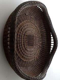A Basket hung as Wall Art