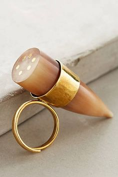 Conical Horn Ring
