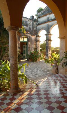 Hacienda Yaxcopoil...archways that take your breath away...