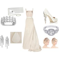 wedding, created by #drue-young on #polyvore. #fashion #style #Lanvin J.Crew