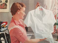 Cheer laundry detergent advertisement (1957)