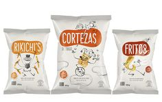 Chip Packaging, Packaging Snack, Biscuits Packaging, Kids Packaging, Food Packaging Design, Minimal Logo Design, Graphic Design, Benefits Of Organic Food, Branding