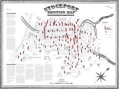 Mappa emozionale di Stockport (2007) | Christian Nold