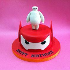 Big Hero 6 Baymax - Fondant Cakes - Johor Bahru CakeDeliver 新山 ...