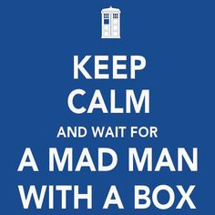 New Relationship Status: Waiting for a Mad man in a blue box