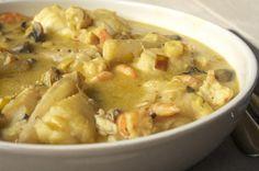 Blanquette de lotte avec thermomix, un plat délicieux ! INGRÉDIENTS 850 g de lotte 850 g de pommes de terre 350 g de champignons de paris 2 carottes 1 oignon …